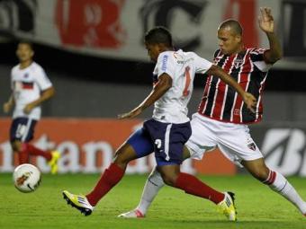 Tricolor erra muitos passes e não consegue evitar derrota para o São Paulo na estreia pela Sul-Ameri - Foto: Eduardo Martins | Agência A TARDE