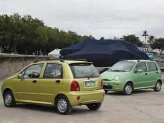 O QQ é o carro de entrada da Chery - Foto: Divulgação Chery
