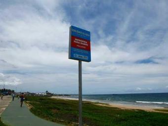 Praia da Boca do Rio está na lista das consideradas impróprias - Foto: Fernando Vivas | Ag. A TARDE