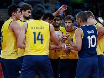 Brasil vence Sérvia por 3 a 2 e avança na Olimpíada de Londres - Foto: Ivan Alvarado | Agência Reuters