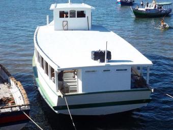 Condições de navegação na Baía de Todos-os-Santos são boas, com mar calmo e ventos fracos - Foto: Astramab | Divulgação