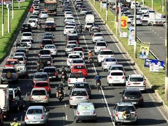 Maus hábitos geram complicações no trânsito - Foto: Fernando Vivas | Agência A TARDE