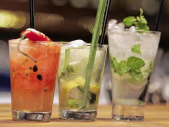 Drinks temperados - Foto: Mila Cordeiro| Ag. A TARDE