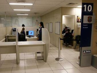 O posto da PF no SAC do Salvador Shopping não teve atendimento nesta segunda - Foto: Lúcio Távora | Agência A TARDE