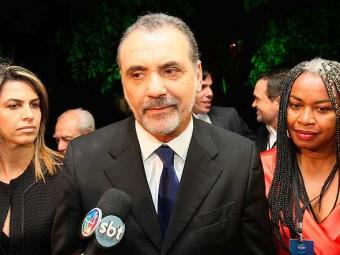 Pelegrino participou de um debate na tv nesta terça com demais candidatos - Foto: Margarida Neide | Agência A TARDE