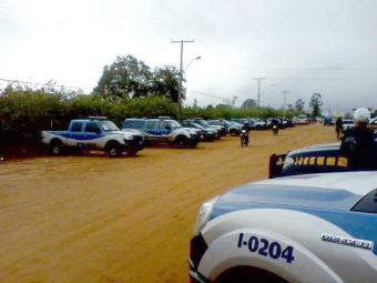 Polícia realiza operação de combate ao tráfico de drogas na região - Foto: Jota Godoy | Euclidesdacunha.net | Divulgação