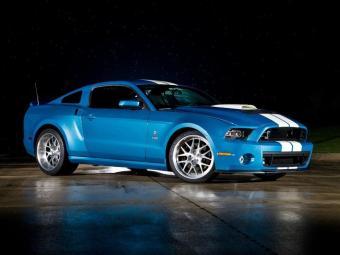 Ford faz homenagem ao Shelby - Foto: Divulgação Ford