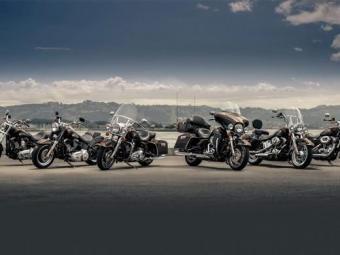 Seis das dez motos do aniversário 110 anos da H-D - Foto: Divulgação