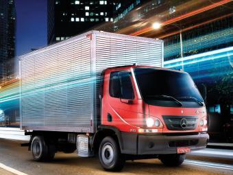 Accelo é um veículo urbano de carga - Foto: Divulgação MB