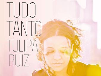 Capa do disco Tudo Tanto, segundo disco da carreira de Tulipa Ruiz - Foto: Divulgação