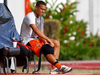 Geovanni vinha treinando separado do grupo principal - Foto: Eduardo Martins   Ag. A TARDE