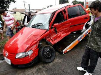 Esposa do comerciante ficou ferida em acidente - Foto: Çuiz Tito | Agência A TARDE