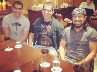 Encontro juntou os cantores para discutir um novo projeto - Foto: Reprodução | Twitter