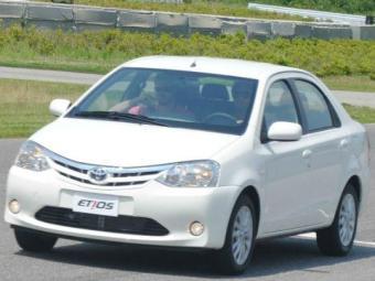 Toyota apresenta versões hatch e sedan - Foto: Divulgação Toyota
