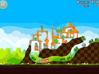 O popular Angry Birds será um dos games do Windows 8 - Foto: Reprodução