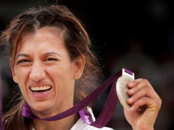 Lucia Teixeira conquistou a terceira medalha do judô em Londres - Foto: Patrícia Santos/CPB