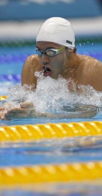 Brasileiro se classificou com o quarto melhor tempo das semifinais - Foto: Lavandeira jr   Agência EFE