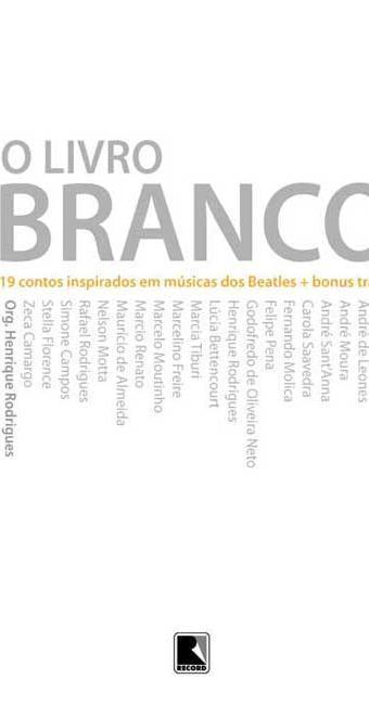 Capa do livro com 19 contos inspirados em músicas dos Beatles - Foto: Reprodução
