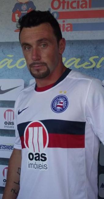 Novo atacante tricolor participa de treino coletivo e pode estrear no domingo, 26, contra o Dragão - Foto: Esporte Clube Bahia   Divulgação
