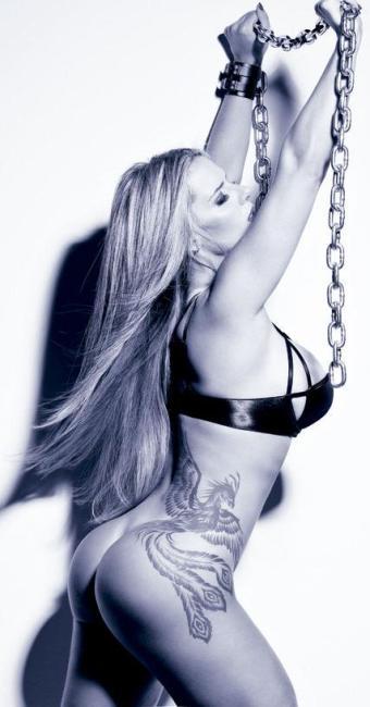 Denise Rocha mostrou ótimos atributos para a revista - Foto: Playboy   Divulgação