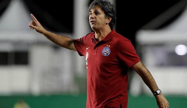Treinador afirma que tem capacidade para tirar a equipe da má fase no Brasileiro - Foto: Eduardo Martins | Ag. A Tarde