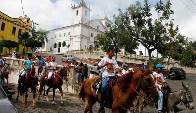 Bando Anunciador da festa de São Bartolomeu, em Maragojipe - Foto: jr. Major   Divulgação