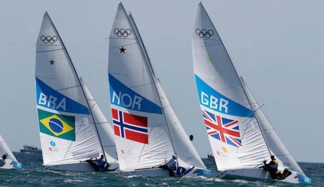 Bronze na classe star deixa o Brasil com sete medalhas em Londres - Foto: Pascal Lauener | Agência Reuters