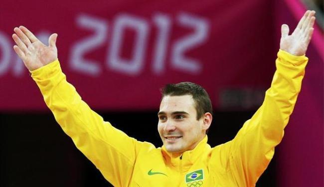 Zanett entrou para a história ao conquistar a primeira medalha de ouro do Brasil nas argolas - Foto: Brian Snyder   Agência Reuters