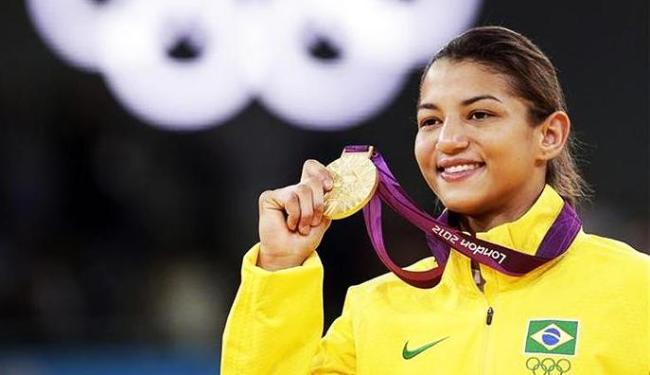 Judoca piauiense Sarah Menezes conquistou a medalha de ouro no judô nos Jogos de Londres - Foto: Toru Ha   Agência Reuters