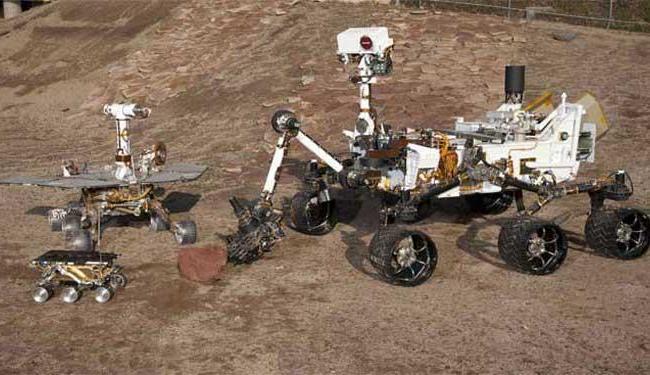 Simulação da Nasa sobre o robô em Marte - Foto: Nasa/JPL-Caltech/Handout   Agência Reuters