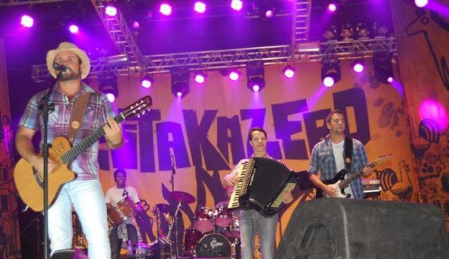 Novo DVD da banda de forró universitária contará com 18 músicas - Foto: Murilo Melo | Ag. A TARDE