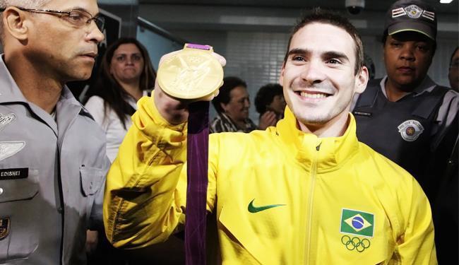 A FIG informou que não há chance de alterar o ouro de Arthur Zanetti e que não houve pedido de revis - Foto: Nacho Doce   Agência Reuters