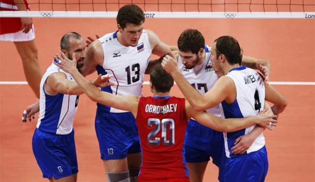 Russos venceram por 3 sets a 1 e agora esperam o vencedor de Brasil e Itália para conhecer o adversá - Foto: Olivia Harris   Agência Reuters