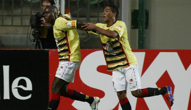 Gol salvador de Nicácio garantiu a virada do rubro-negro - Foto: Paulo Fonseca | Futura Press l AE