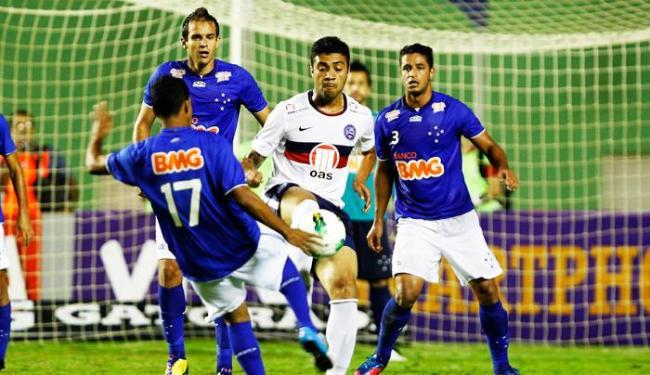 Bahia saiu de campo com a sua terceira derrota em casa, a sétima no campeonato - Foto: Eduardo Martins | Ag. A TARDE