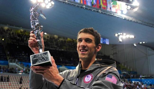 Michael Phelps se tornou o atleta mais vitorioso da história das Olimpíadas - Foto: Agência Reuters