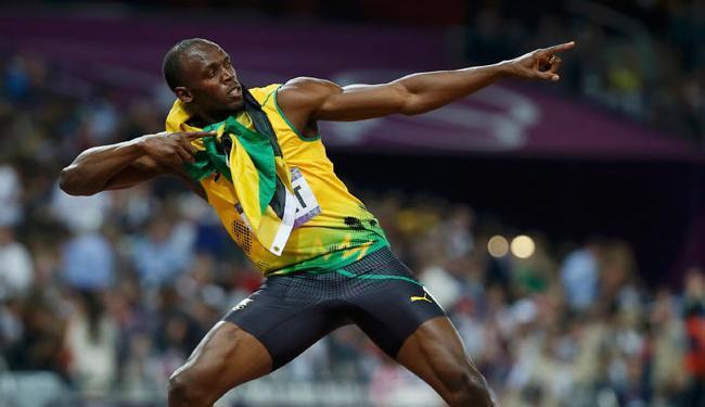 O nome de Usain Bolt recebeu 80 mil menções por minuto, um recorde - Foto: Lucy Nicholson | Agência Reuters