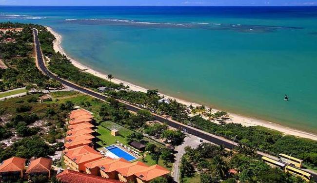 Praia do Mutá, em Porto Seguro, no sul da Bahia - Foto: Antonio Alberguini | Divulgação