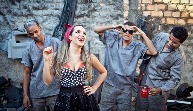 Banda Beijo volta com uma pegada irreverente no axé baiano - Foto: Laboratório da Notícia   Divulgação
