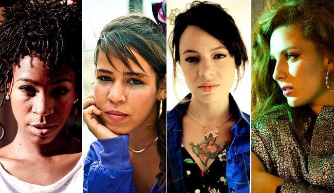 Karol Conká, MC Flora Matos, Lurdez da Luz e Dryca Ryzzo são os destaques do hip hop atual - Foto: Divulgação | Divulgação | Biju Caldeira | Divulgação
