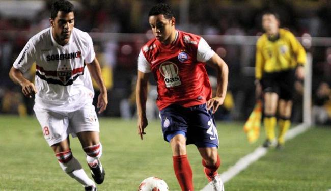 Bahia não resiste ao São Paulo e, com segunda derrota, acaba eliminado na Sul-Americana - Foto: Roberto Vazquez   Futura Press