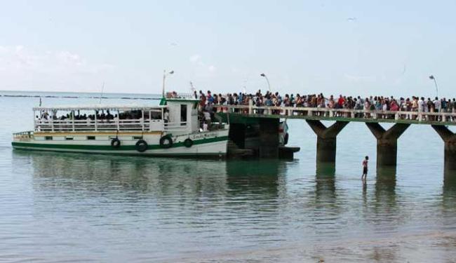 Travessia funcionará nesta terça até às 19h30 de Salvador e às 18h30 em Vera Cruz - Foto: Gildo Lima | Arquivo | Ag. A TARDE