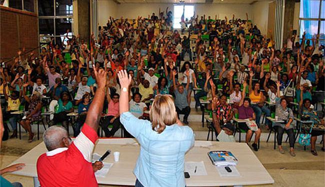 Servidores das Ufba votaram pela aceitação da proposta apresentada pelo governo - Foto: Américo B. Barros   ASSUFBA Sindicato