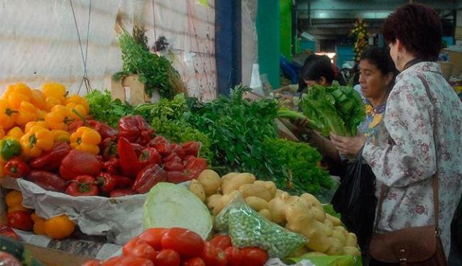Hortaliças e legumes contribuíram para o decréscimo do IPC-S no grupo alimentação - Foto: Valter Campanato   Agência Brasil