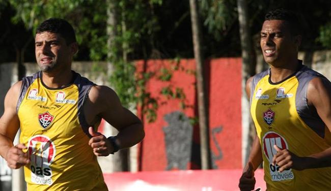 Titulares na partida contra o Joinville, William e Élton atuarão juntos também contra o Vozão - Foto: Margarida Neide / AG. A TARDE