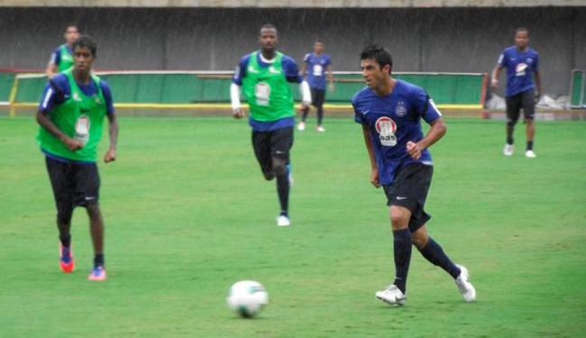 Bahia treina em Pituaçu e aproveita para definir últimos detalhes antes do jogo com o Dragão - Foto: Esporte Clube Bahia | Divulgação