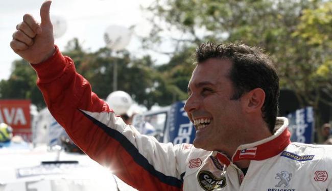 Patrick recebeu o apoio da torcida e pontuou pela primeira vez no campeonato da Stock Car - Foto: Lúcio Távora | Ag. A TARDE