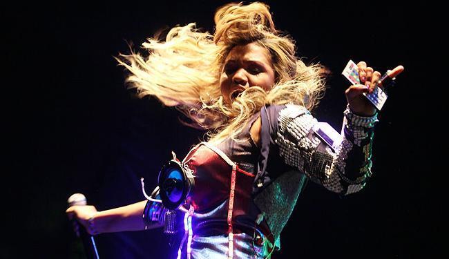Gaby apresentará em Salvador as músicas que fazem parte do seu primeiro CD solo, intitulado