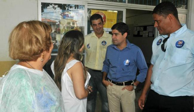 O prefeiturável defendeu a presença de médicos na unidade - Foto: Divulgação | Ag. A TARDE