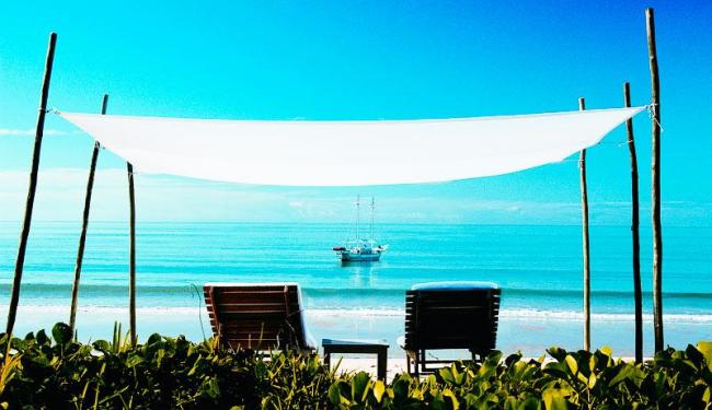 Praia de Corumbau, em Prado, um dos locais mais procurados pelos turistas de todo o mundo - Foto: Divulgação